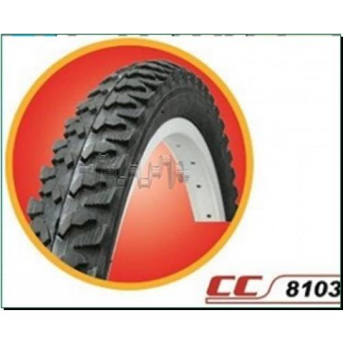 Велосипедная шина   26 * 2,125   (СС-8103 листик)   DURRO-Китай   (#LTK)