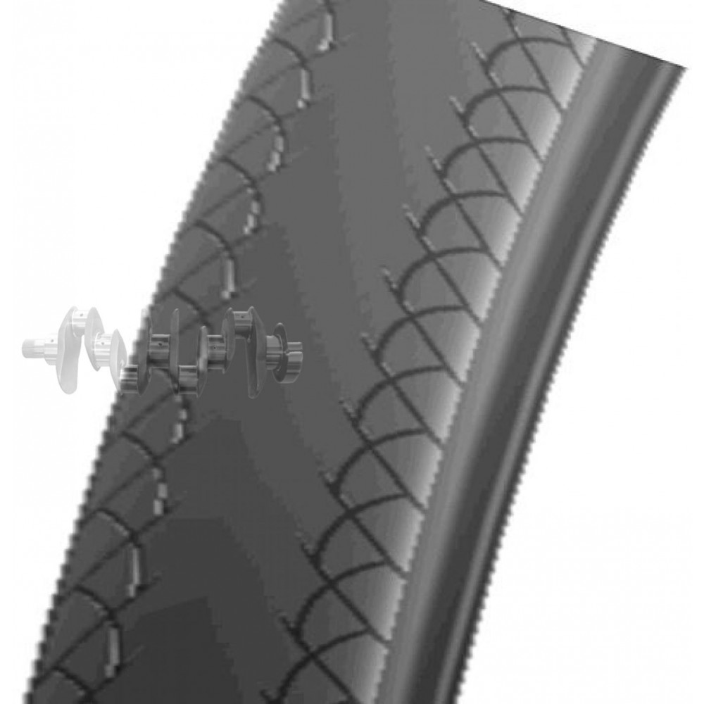 Велосипедная шина   28   (700 * 23C)   (SA-215 KEVLAR(скрутка)кр пол)   Delitire-Индонезия   (#LTK)