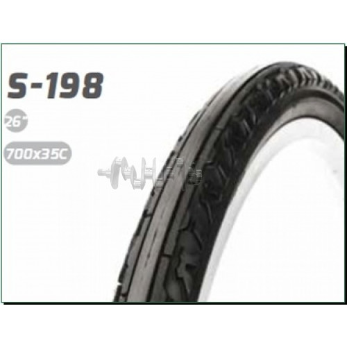 Велосипедная шина   28 * 1,40   (700 * 35C) (37-622)   (S-198  Blue strip)   DSI-Шри Ланка   (#LTK)