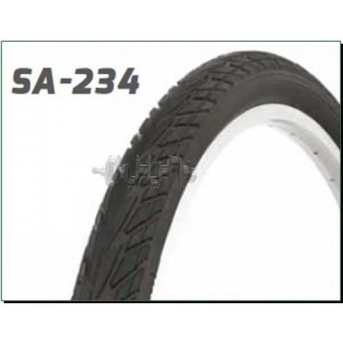 Велосипедная шина   28 * 1,40   (700 * 35C) (37-622)   (S-234 Blue strip)   Delitire-Индонезия   (#L