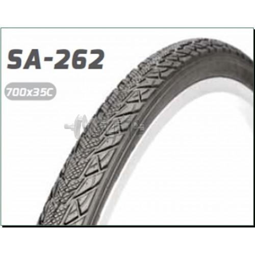 Велосипедная шина   28 * 1,40   (700 * 35C) (37-622)   (S-262 Blue strip)   Delitire-Индонезия   (#L
