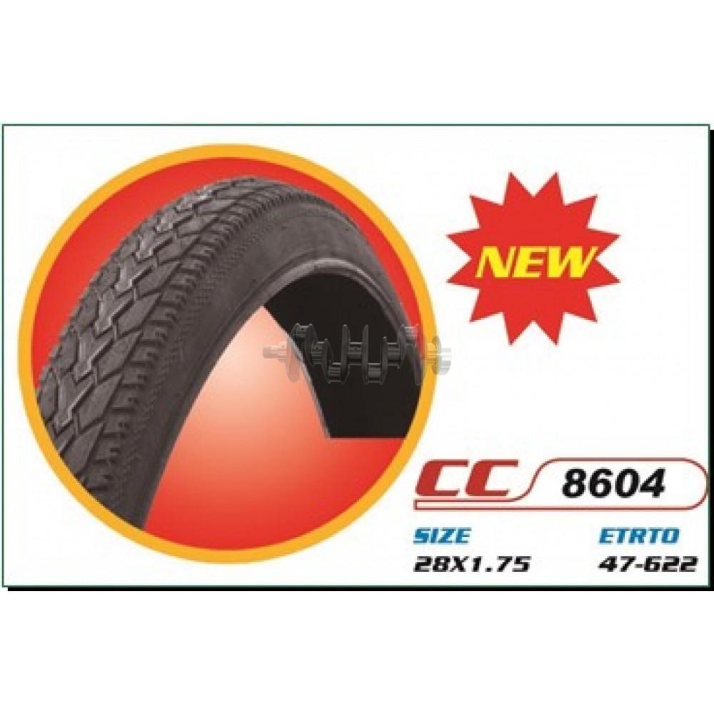 Велосипедная шина   28 * 1,75   (47-622)   (СС-8604 стрелка)   DURRO-Китай   (#LTK)