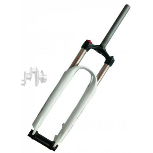 Вилка велосипедная амортизационная безрезьбовая   (26, черная , алюминий, V-Brake)   (MOZO Vigor-HL)