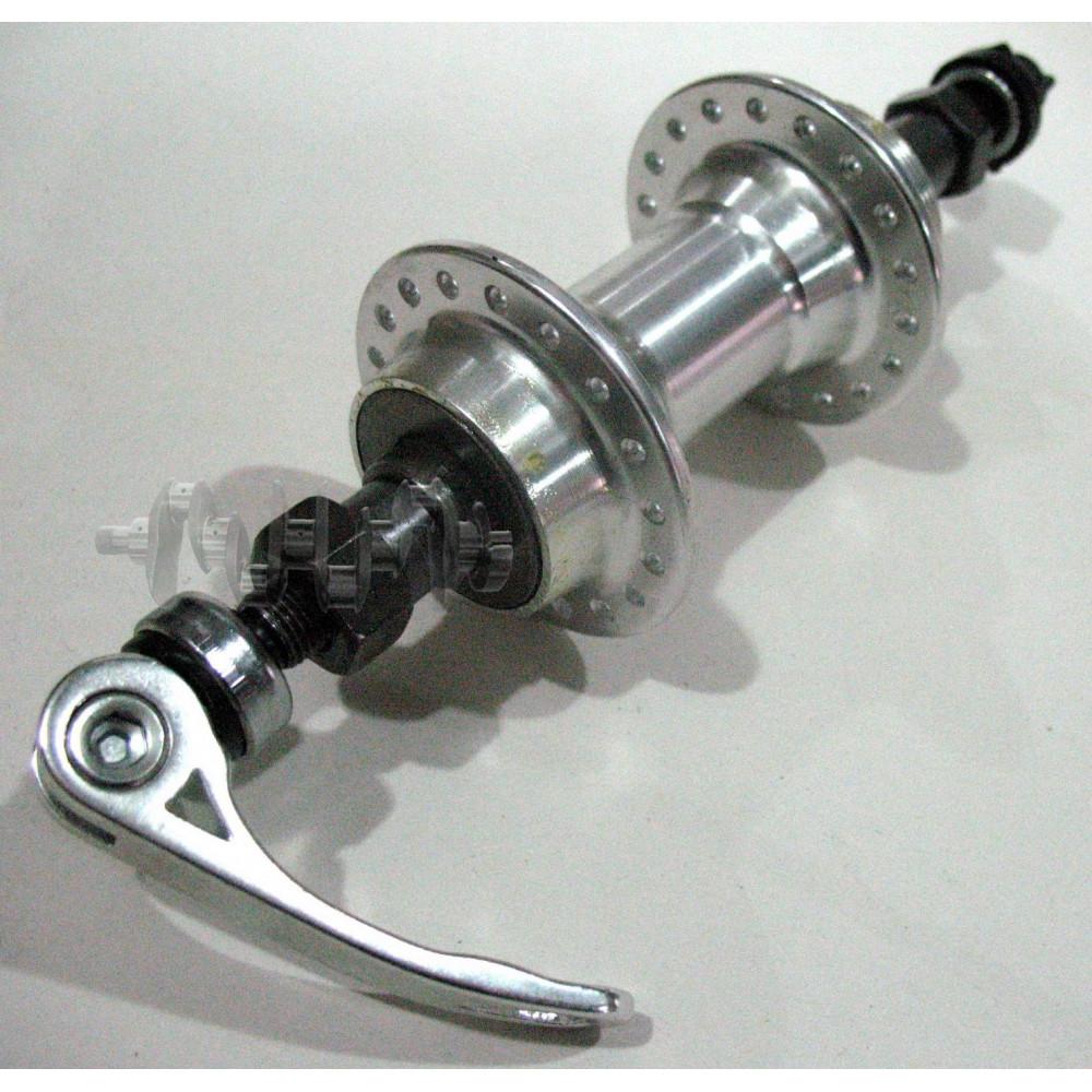 Втулка заднего колеса велосипеда   (алюминий) (36 спиц, эксцентрик, трещотка, CF-10 32H)   KL