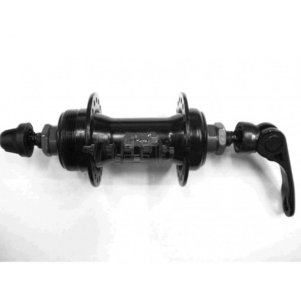 Втулка переднего колеса велосипеда   (36 спиц, под диск, эксцентрик)   DS