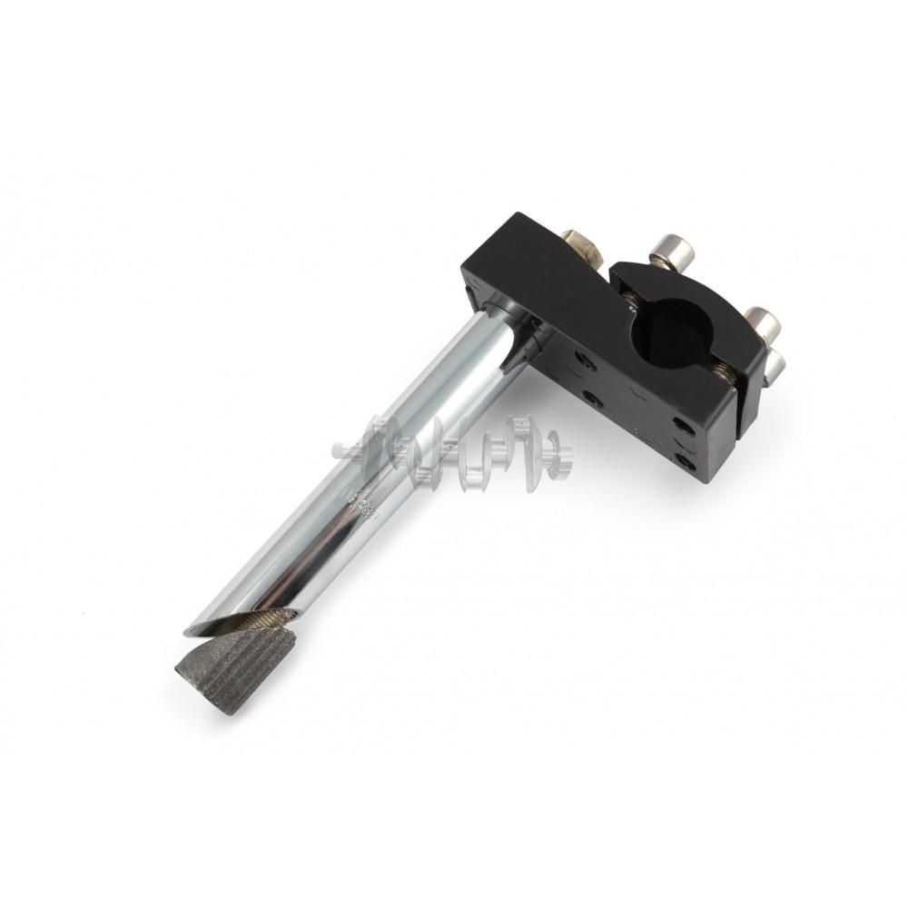Вынос руля велосипеда   (универсальное крепление) (L-150mm, D-22mm)   (черный) (услиленный, под 4 бо