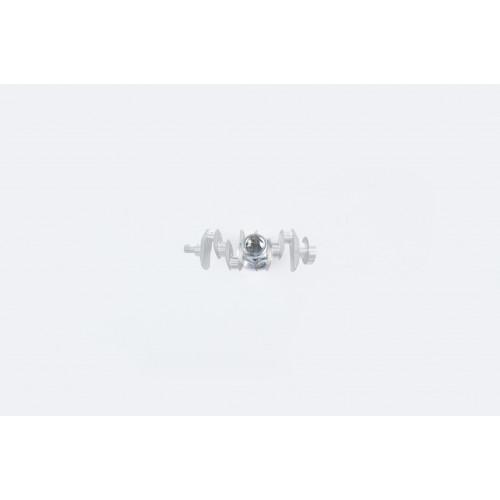 Гайка М10 x 1.25   (со стопорным кольцом)   GUANG