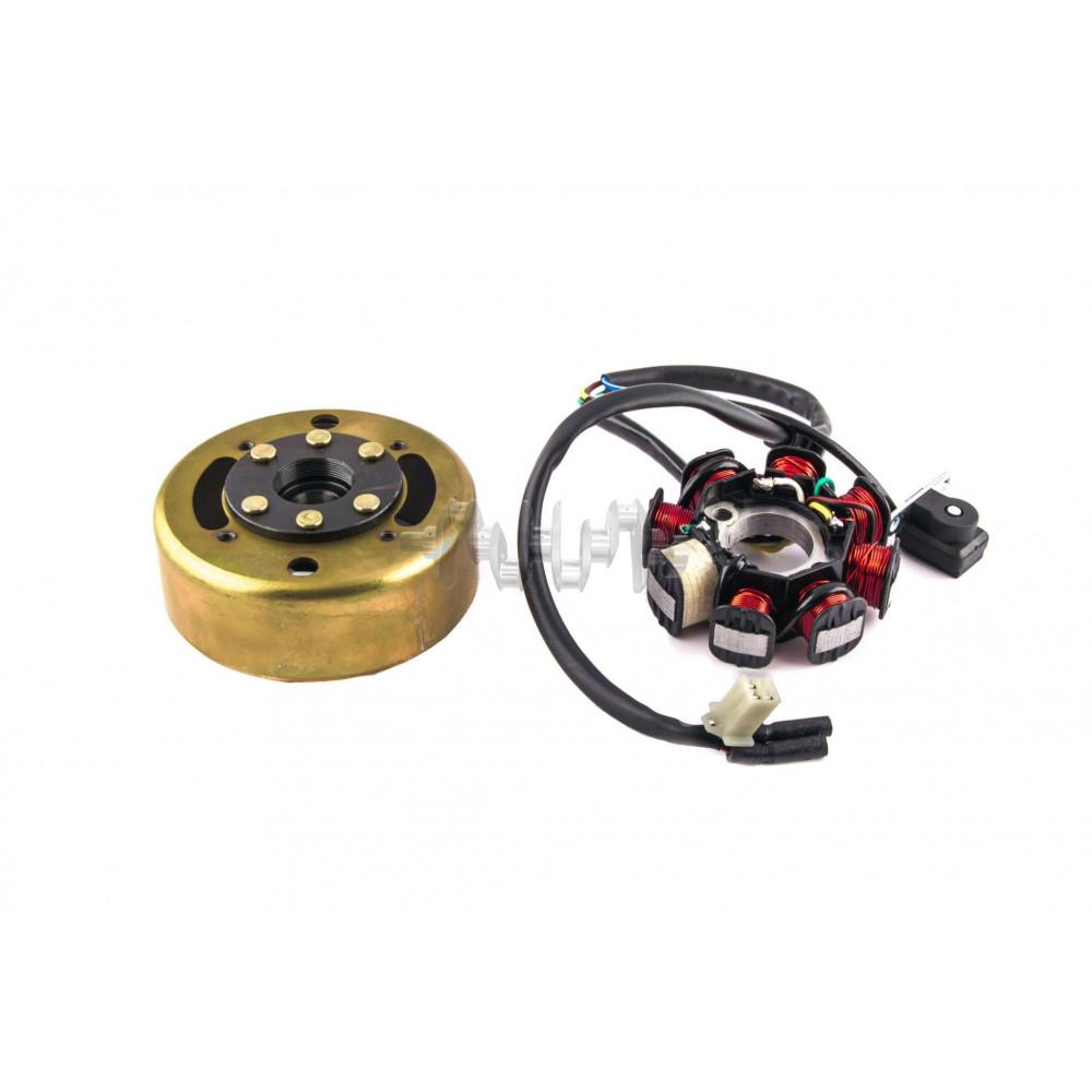 Генератор   4T GY6 125/150   (7+1 катушка)   PLT