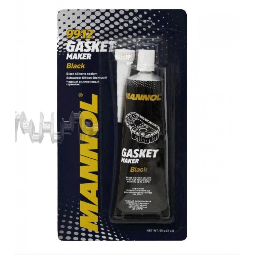 Герметик   85г   (черный) (вулканизирующийся)    (9912 Gasket Maker Black)   MANNOL