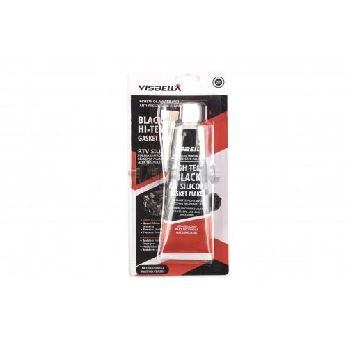Герметик силиконовый   85мл   (черный)   VISBELLA