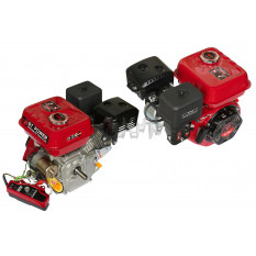 Двигатель м/б   168F   (6,5Hp)   (полный комплект) (электростартер, вал Ø 20мм,  под шпонку)   DAOTO