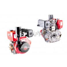 Двигатель м/б   186F   (9Hp)   (полный комплект, под шлицы)   DIGGER