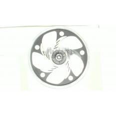 Диск колеса   1,4 * 17   (зад, барабан)   (легкосплавный, черный)   Delta   EVO