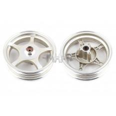 Диск колеса   2,50 * 10   (перед, диск)   (легкосплавный, 19 шлицов)   ZY