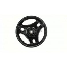 Диск колеса   2.15 * 10   (зад, барабан) (металл, 22 шлица,)   (черный)   Honda DIO   EVO