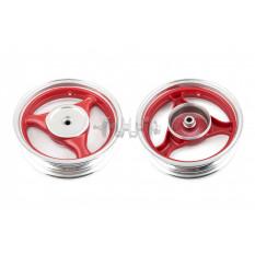 Диск колеса   3,50 * 13   (зад, барабан)   (легкосплавный, 19 шлицов)   ZY