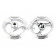 Диск колеса   3,50 * 13   (перед, диск)   (легкосплавный)    (серебристый)   ZY