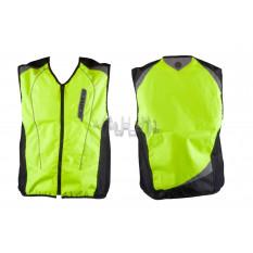 Защита жилет    (size:XL, свето отражающий, mod:JK)   SCOYCO