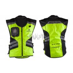 Защита жилет   (size:XL, свето отражающий, mod:JK32)   SCOYCO