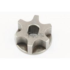 Звезда электропилы (венец привода)   (D-30, d-8/10, H-10mm)   China #2   JIANTAI