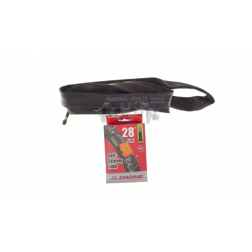 Камера (велосипедная)   28 * 1,75/2,00   (A/V=48mm Butyl Self sealing АНТИПРОКОЛ)   (Chao Yang)   LT