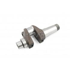 Коленвал м/б   195N   (12Hp)   (голый)   (крепления вала балансировочного D-14 x 1,5mm)   ST