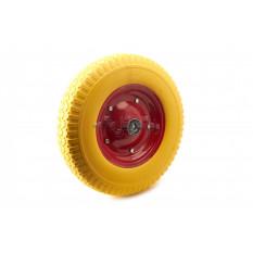 Колесо   4,00 -8   TL   (бескамерное, под ось d-20мм )   (желтое)   MRHD