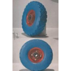 Колесо   4,10/3,50 -4   TL   (бескамерное, под ось d-20мм )   (синее)   MRHD