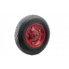 Колесо   4,80/4,00 -8   TT   (камерное, под ось d-16мм) (красное)   MRHD