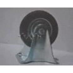 Колесо для тачек и платформ (литая резина) (в сборе с креплением)   (100mm)   MRHD