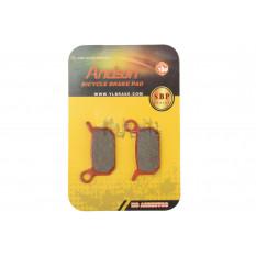 Колодки тормозные велосипедные (дисковые)   Formula 4Racing B4, 4-piston O2, 2-piston B4   (mod:SBP-