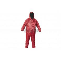 Костюм дождевик для езды на скутере   (красный, xxl)   Q