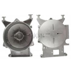 Крышка (левая) статора бензогенератора   ET-950   (с подшипником 6203)   JIANTAI