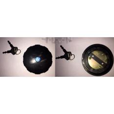 Кришка бака паливного ІЖ (під ключ) (чорна) JING арт.Z-1268