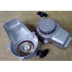 Крышка заводная минимото   Pitbike, ATV   (стартер, шнур, серая)   VV