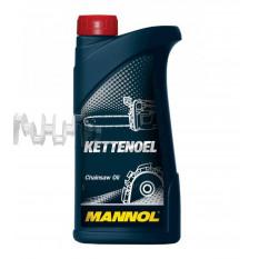 Масло   1л   Kettenoel (минеральная основа, для смазки цепей бензоинструмента)   MANNOL