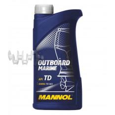 Масло   2T, 1л   (для лодок, гидроциклов, двигателей с водяным охлаждением, Outboard Marine API TD)