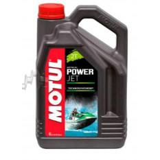 Масло   2T, 4л   (полусинтетика, POWERJET, для гидроциклов, NMMA/TC-W/TC-WII, NMMA TC W3)   MOTUL