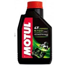 Масло 4T, 1л (напівсинтетика, 10W-50, 5100, API SL / SJ / SH / SG) MOTUL (104074) арт.M-905