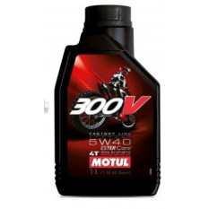 Масло   4T, 1л   (синтетика, 5W-40, 300V, FACTORY LINE OFF ROAD)   MOTUL   (#104134)