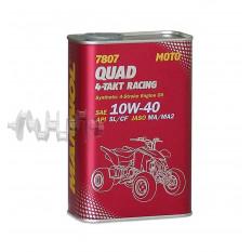 Масло   4T, 1л   ж/б   (SAE 10W-40, синтетика, 7807 Quad 4-Takt Racing API SL/CF)   MANNOL
