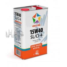 Масло 4T, 4л (мінеральне, 15W-40 SL / CI-4) VERYLUBE (20255) (ХАДО) арт.M-960