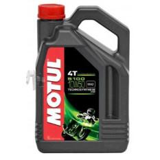 Масло 4T, 4л (напівсинтетика, 10W-50, 5100, API SL / SJ / SH / SG) MOTUL (104076) арт.M-906