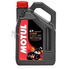 Масло 4T, 4л (синтетика, 10W-50, 7100, API SL / SJ / SH / SG) MOTUL (104098) арт.M-908