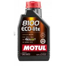 Масло автомобильное, 1л   (синтетика, 5W-30, 8100 ECO-LITE)   MOTUL   (#108212)