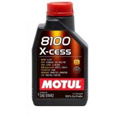 Масло автомобильное, 1л   (синтетика, 5W-40, 8100 X-CESS)   MOTUL   (#102784)