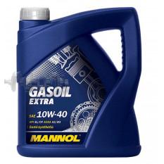 Масло автомобильное, 4л   (SAE 10W-40, полусинтетика, Gasoil Extra API SL/CF)   MANNOL