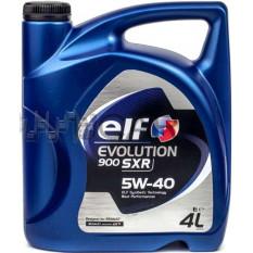 Масло автомобильное, 4л   (SAE 5W-40, синтетика, EVOLUTION 900 SXR)   ELF   (#GPL)