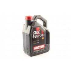 Масло автомобильное, 4л   (синтетика, 5W-40, 6100 Synergie+)   MOTUL   (#107978)