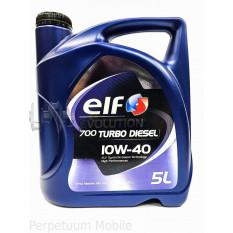 Масло автомобильное, 5л   (SAE 10W-40, полусинтетика) (Evolution 700 TURBO DIESEL 10W-40 )   ELF   (